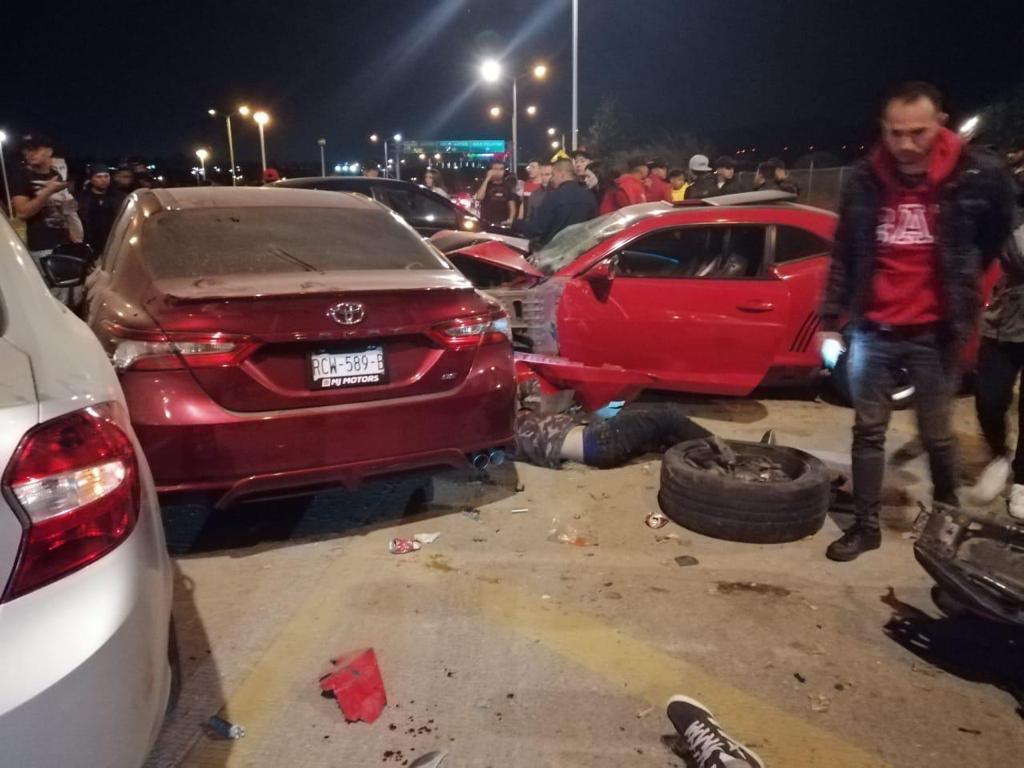 Accidente JVC